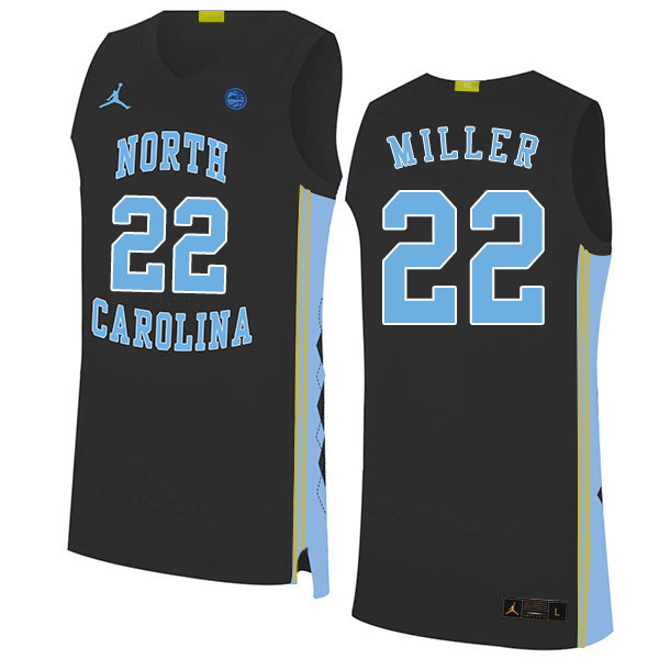 2020 Men #22 Walker Miller North Carolina Tar Heels College Basketball Jerseys Sale-Black